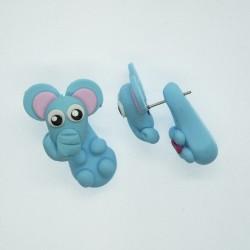 Slon světle modrý